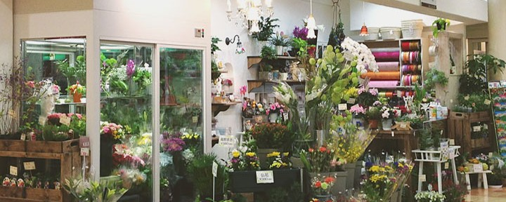 flower shop 優花